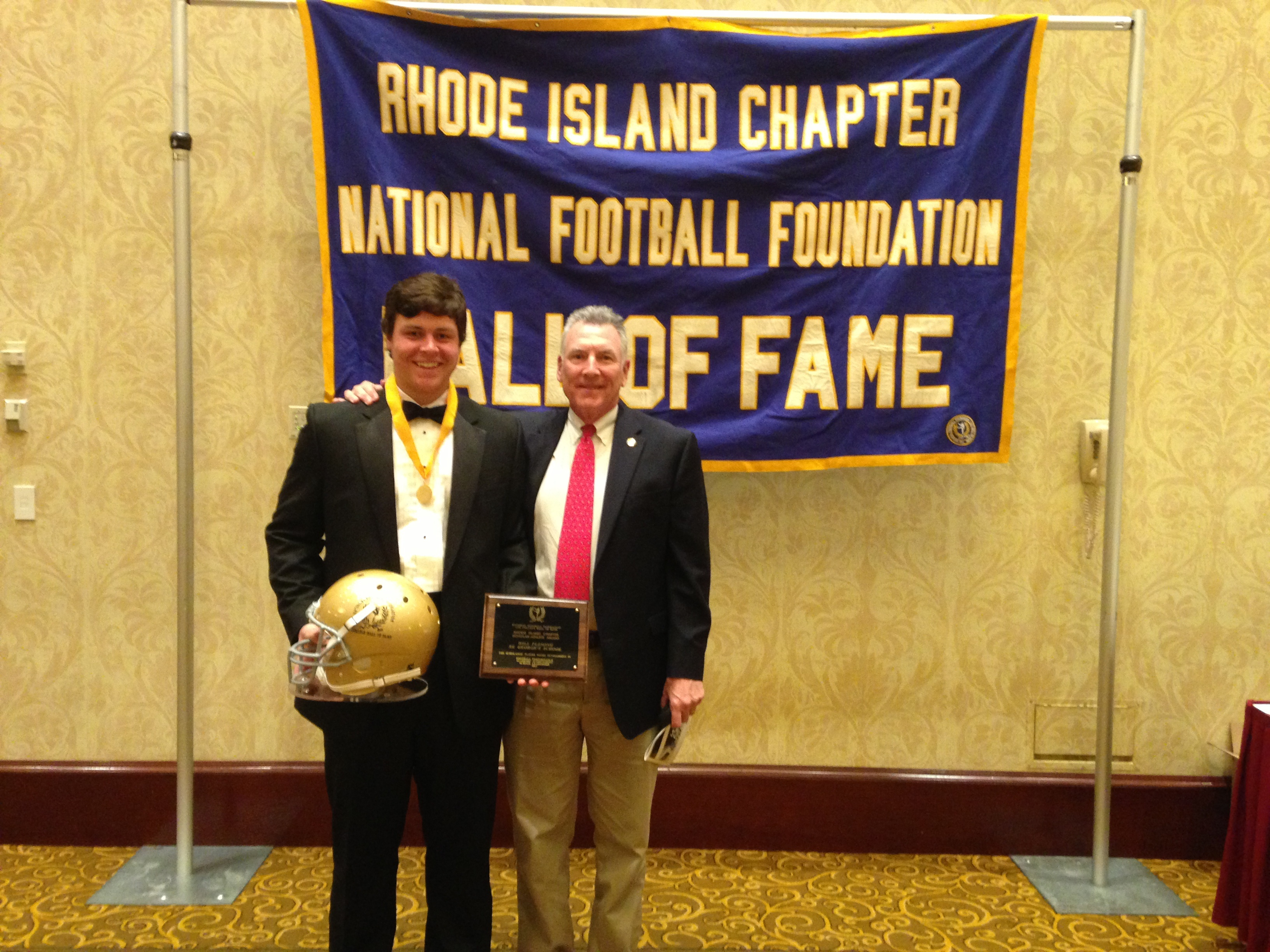 St. George's Fleming Honored at the RI Chapter of the National Football Foundation & College Hall of Fame's Golden Dozen Dinner